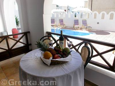 Pension Stella, Santorini, Greece, low cost travel in Santorini